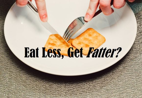 Eat less get fat