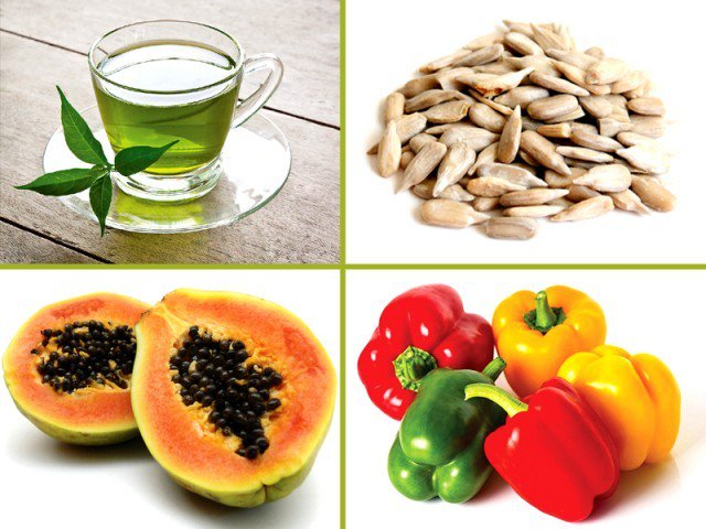 Foods for Flawless Skin